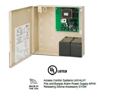 SDC 1 Amp 12/24V Power Supply and Enclosure, 602RF