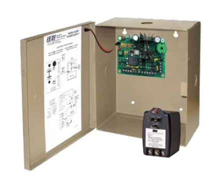 SDC 1 Amp 12/24V Modular Power Supply with Box, 621PJ