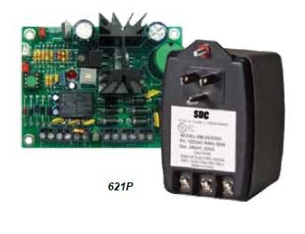 SDC 1 Amp 12/24V Modular Power Supply with Transformer, 621P