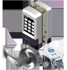 SDC EntryCheck E75P Standalone Prox Lock, E75P-Q-E1-Q-626