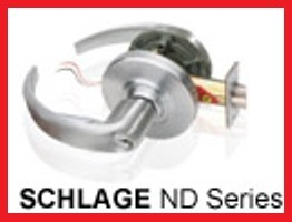 SDC Fail Secure Lockset Schlage Athens Trim, ZS7252ATHQ
