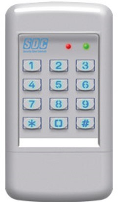 SDC Surface Mounted Indoor/Outdoor Keypad, 920