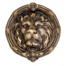Brass Accents Leo Lion Door Knocker A07-K5100 609 Finish
