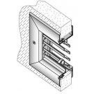 Anemostat FLDL-UL Fusible Link Fire Door Louver