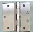 Hager BB1173 NRP US26D Half Surface Hinge