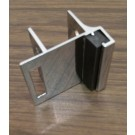 Inswing Strike and Keeper for 1-1/4 inch toilet partition panel