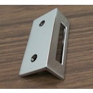 Surface Mounted Keeper for Inswinging Toilet Partition Door
