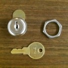 ASI Lock, Key, and Retaining Nut L-001