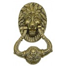 Brass Accents A07-K5010 Lion Door Knocker 6 1/4 in