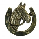 Brass Accents A07-K5030- Horse Knocker 5-1/4 in