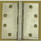 Hager 1279 4 1/2 x 4 1/2 Plain Bearing Hinge