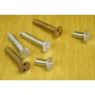 Spanner Head Wood Screws #12 x 1 1/4 inch Flat Head