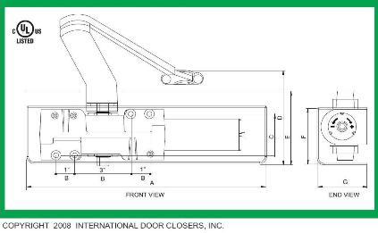 door closer adjustment instructions