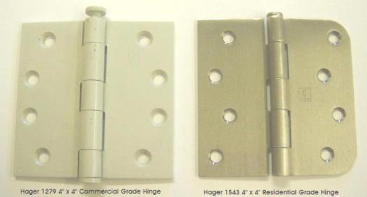 Hager Hinge 1279 compared to 1543