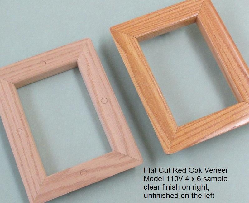 All Metal Stamping Window Lite 110V FC Red Oak
