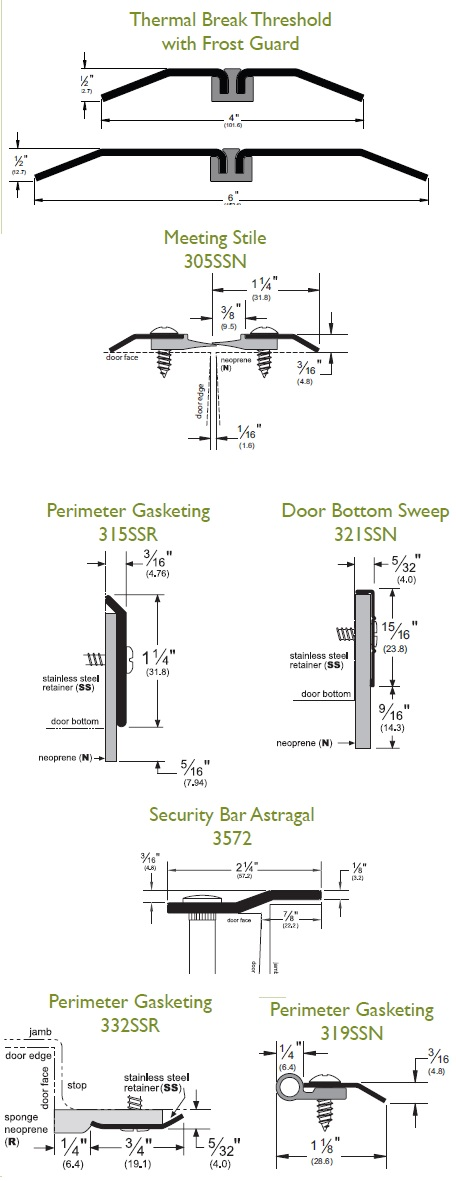 Blog Stainless Steel Thresholds And Weatherstripping